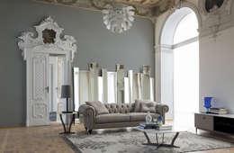 Soggiorno 4 - a: Soggiorno in stile in stile Classico di Alberta Pacific Furniture
