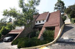 Paseo de la Reforma: Casas de estilo moderno por Boué Arquitectos