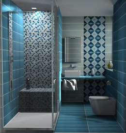 Projekty,  Łazienka zaprojektowane przez Acquario Due