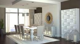 modern Dining room by Gabriela Afonso