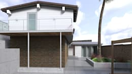 Diseño de Balcones y Terraza: Terrazas de estilo  por Gabriela Afonso