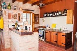 مطبخ تنفيذ Abitar arquitectura