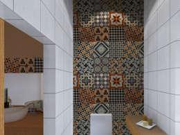 rustieke & brocante Badkamer door LXL - Lisbon Lifestyle