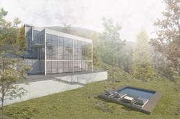 Casa-Taller en Caicaguana:  de estilo  por PUNCH TAD