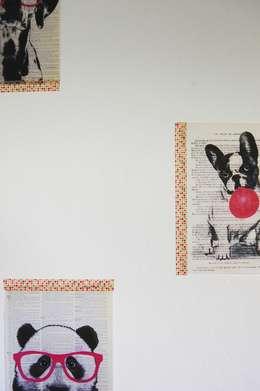 Nid douillet pour bébé: Chambre d'enfant de style de style Moderne par Pièces d'identité