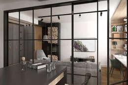 Salas de estilo escandinavo por ONE STUDIO