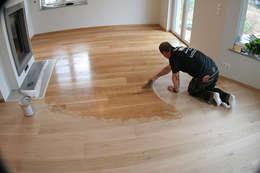 C mo pulir y barnizar un suelo de madera en 5 pasos - Pulir el suelo ...