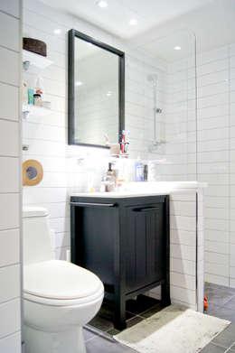 대전광역시 서구 둔산동 햇님마을 아파트 27PY: 위드디자인의  화장실