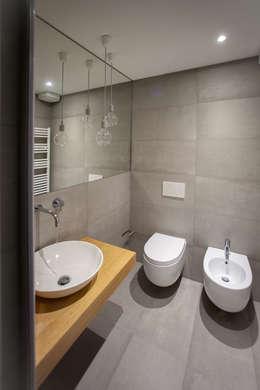 Projekty,  Łazienka zaprojektowane przez OKS ARCHITETTI