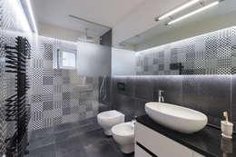 modern Bathroom by B+P architetti