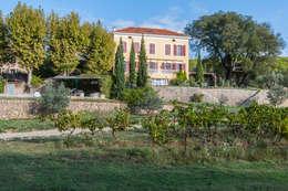 vignes: Jardin de style de style Méditerranéen par goodnova godiniaux