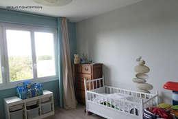 Chambre d'enfant: Chambre d'enfant de style de style Moderne par Desjoconception