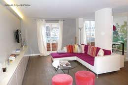 Le séjour: Locaux commerciaux & Magasins de style  par Desjoconception