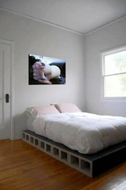 Projekty,  Sypialnia zaprojektowane przez Jara y Olmo S.L