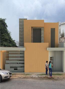Casas de estilo ecléctico por 3R. ARQUITECTURA