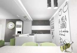 Cocinas de estilo moderno por LTAB/LAB STUDIO