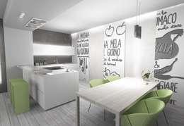 Cuisine de style de style Moderne par LTAB/LAB STUDIO