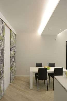 Salle à manger de style de style Moderne par LTAB/LAB STUDIO