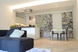 modern Living room by LTAB/LAB STUDIO