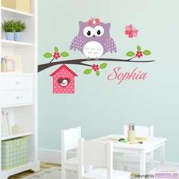 modern Nursery/kid's room by Livingstyle und Wanddesign