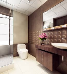 modern Bathroom by Space Interface