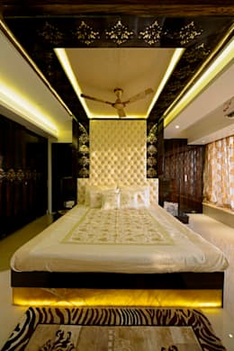 RESIDENTIAL PENTHOUSE INTERIORS: modern Bedroom by AIS Designs