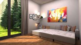emirimer – FK Evi: modern tarz Multimedya Odası