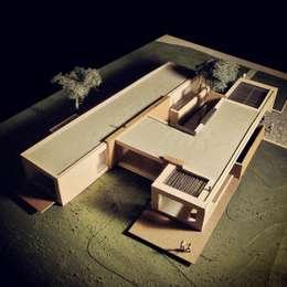 Casas de estilo minimalista por David Macias Arquitectura & Urbanismo