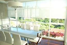 غرفة السفرة تنفيذ Arquitecto Juan Pablo Fernandes