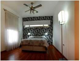Obra La Piedad: Dormitorios de estilo moderno por Silvana Valerio