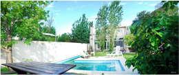 Obra La Piedad: Jardines de estilo moderno por Silvana Valerio