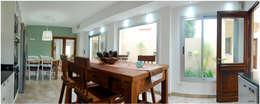 غرفة السفرة تنفيذ Silvana Valerio