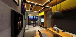 Lar 104: Salas de jantar modernas por Julian Seifert Arquitetura