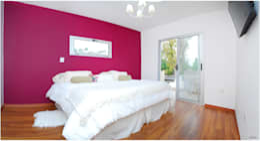 Obra Europa: Dormitorios de estilo moderno por Silvana Valerio