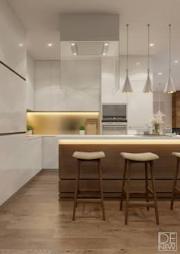 minimalistic Kitchen by DEnew