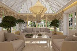 classic Conservatory by EVGENY BELYAEV DESIGN