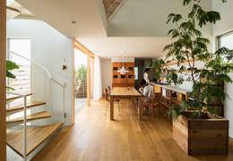 藤森大作建築設計事務所의  거실