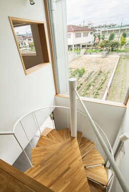 Koridor dan lorong by 藤森大作建築設計事務所