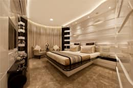 Bridal Room, Mumbai.: eclectic Bedroom by SDA designs