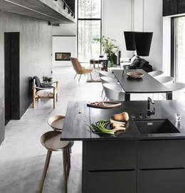 Cocinas de estilo moderno por Eurekaa