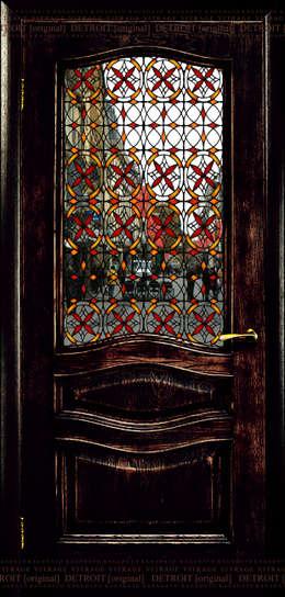 Projekty, industrialne Okna i drzwi zaprojektowane przez KAGADATO