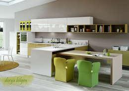 modern Kitchen by Derya Bilgen