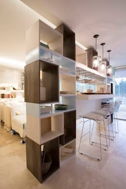 Cocinas de estilo moderno por Ines Calamante Diseño de Interiores