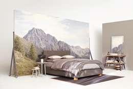 modern Bedroom by HOME Schlafen & Wohnen GmbH
