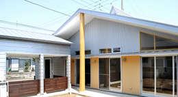 庭側の外観: モリモトアトリエ / morimoto atelierが手掛けた家です。