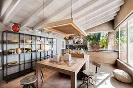 مطبخ تنفيذ Studio Maggiore Architettura