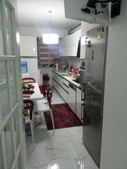 Blue Home  – Arife HOCAM: modern tarz Mutfak
