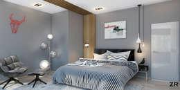 Jules César: Chambre de style de style Minimaliste par ZR-architects