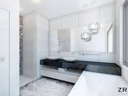 minimalistische Badkamer door ZR-architects