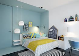 ZR-architects: modern tarz Çocuk Odası